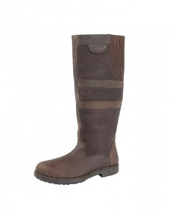 WOODLAND 'HAILEY' L259 Gusset Waxy Leather Country Riding boots