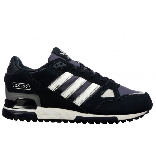 4ca5be4f Details about Adidas ORIGINALS ZX 750 Mens Trainers Running Shoes Navy  Sneakers UK Size 7-11
