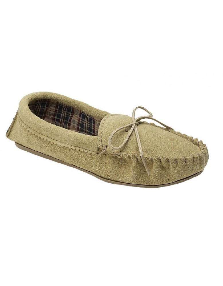 Mokkers AMANDA Leather Moccasin Slippers Made in England