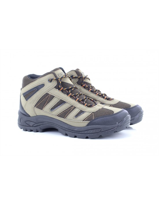 Catesby Ontario Walking 5 Eyelet Mid Trek And Trail Trainer Boots