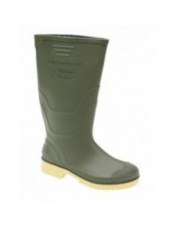 Dikamar W072 ADMINISTRATOR Unisex Junior Wellingtons Boots Black Green