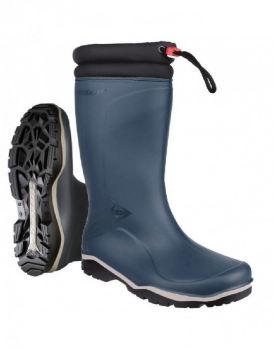 Unisex DUNLOP W004 Toggle Tie Thermal Blizzard Wellingtons