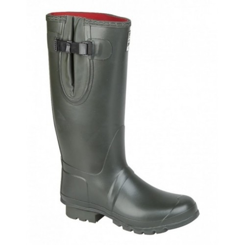 Woodland 3mm NEOPRENE Gusset Thermal Lined Wellingtons