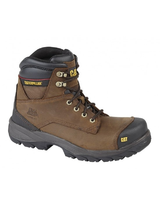 Caterpillar 'Spiro' Industrial Safety Boot Safety Toe Cap & Midsole Water Resistant