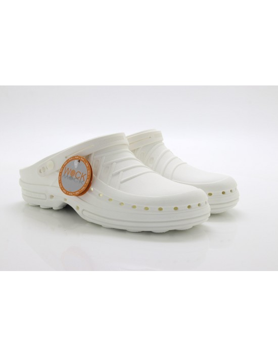 Wock Original White Professional Nursing Everyday Medi Clog