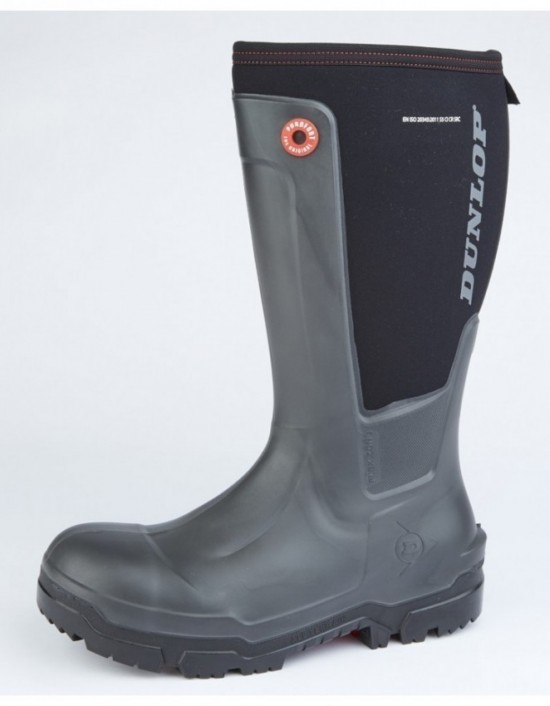 Dunlop 'SNUGBOOT WORKPRO' Safety Non Metal Midsole Wellingtons