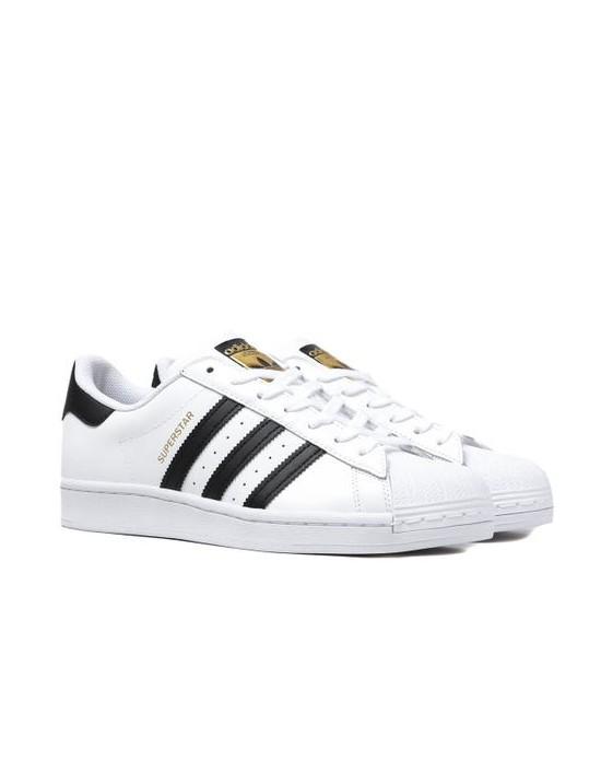 Mens Adidas Originals Superstar White Trainers