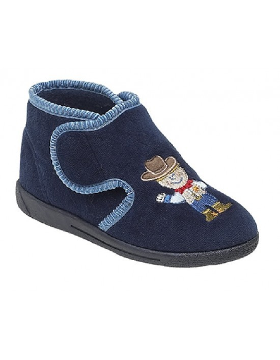 childs-boys-slippers-sleepers-cowboy-malc-textile