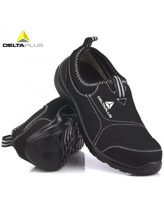Mens Delta Plus Lightweight Steel Toe Cap Safety Work Shoes Womens Trainers
