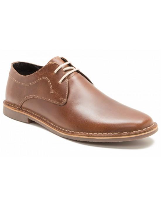 Red Tape Men's Yuma Tan leather Casual Shoe