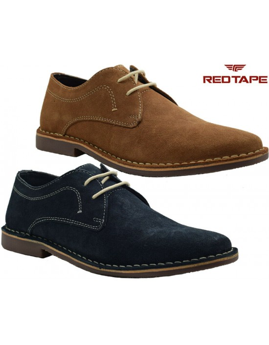 Red Tape Men's Yuma Suede Leather Casual Lace Up Shoes