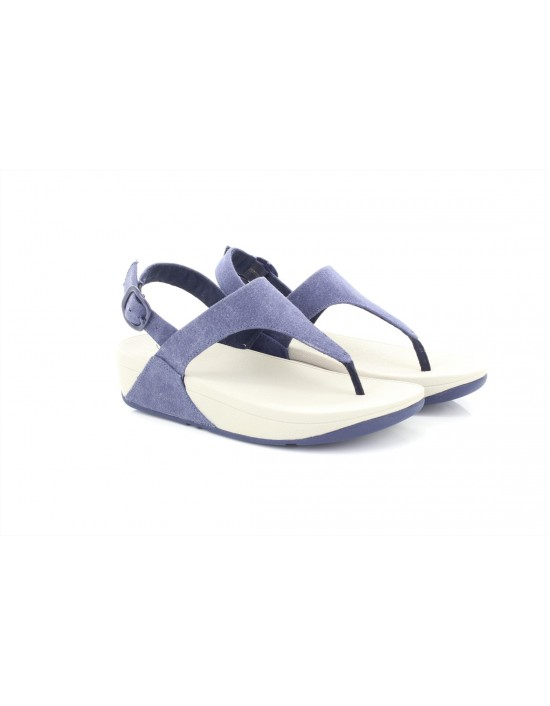 Fitflop Women's The Skinny Toe Thong Sandal in Canvas Flip Flop