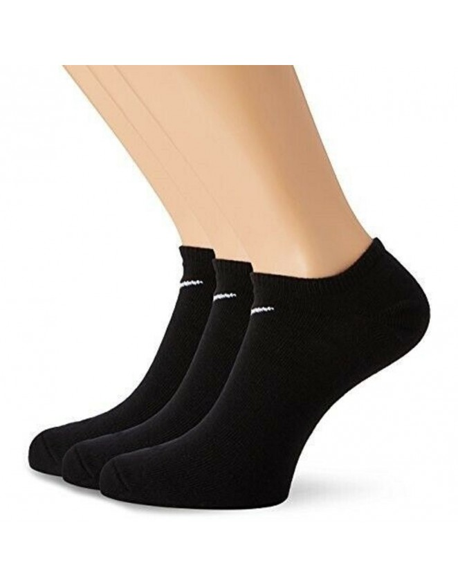 Nike Mens Womens 3 Pack No Show Socks Value Ankle Low Trainer Sock