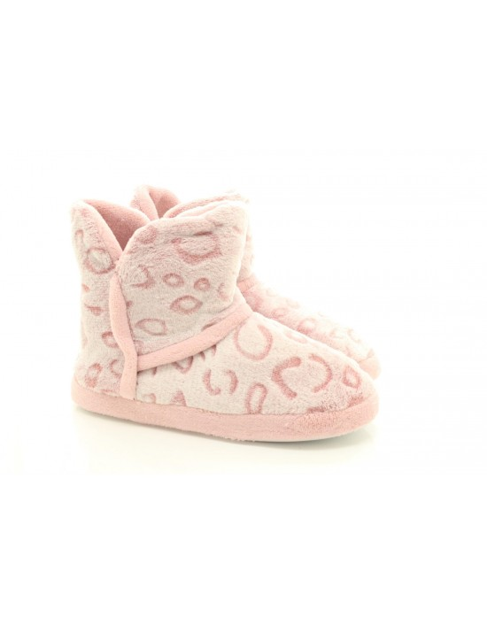 Womens Fluffy Indoor Cosy Warm Winter Booties Slippers Boots