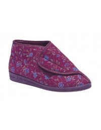 ladies-bootee-slippers-comfylux-andrea--textile-boots