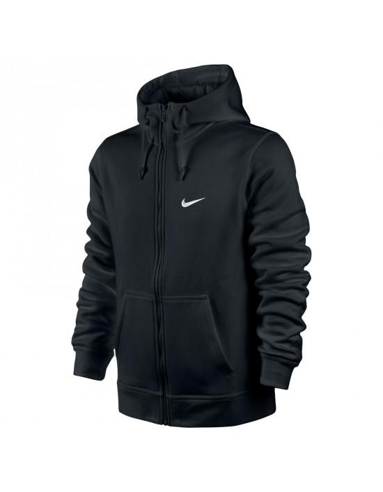 NIKE Sportswear Club Full Zip Fleece Hoodie For Men Black Navy Grey