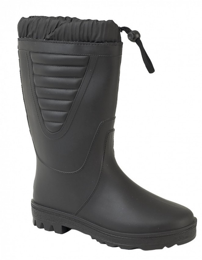 Mens Wellingtons and Waders StormWells Boots All Black PVC