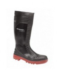 Mens Dunlop ACIFORT RIBBED W088 Safety Full Length Wellingtons