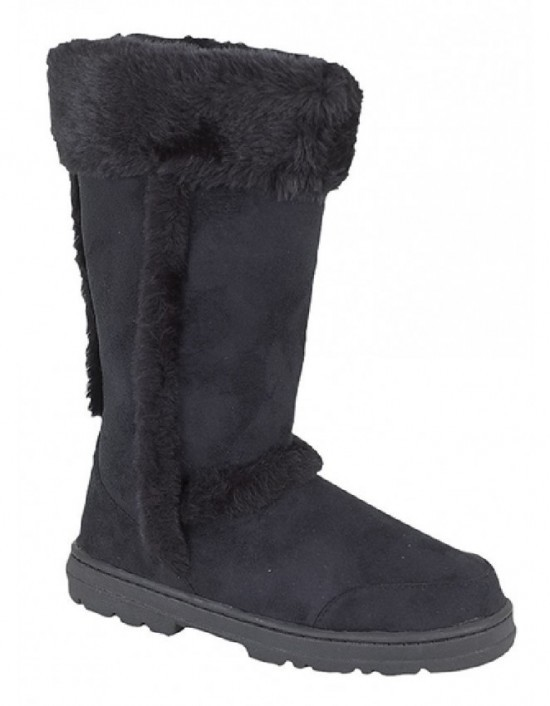 ladies-fashion-boots-cat-eyes-textile-boots