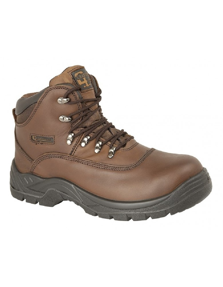 c96d5aa56d4 Grafters M216 Mens Industrial Safety Hiker Type Boots Safety Toe Cap