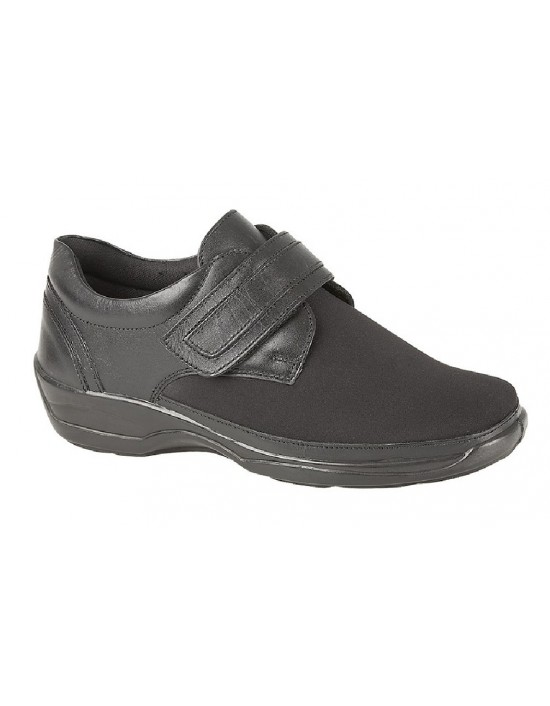 Mod Comfys X Wide Touch Fastening Stretch Comfort Shoes