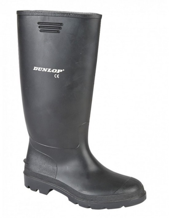 Dunlop Unisex PRICEMASTOR Quality Full Length Wellington Boots