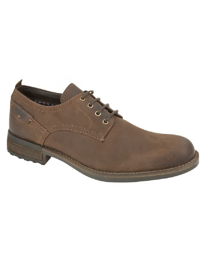 Roamers Crazy Horse Leather 4 Eye Casual Smart Walking Shoes