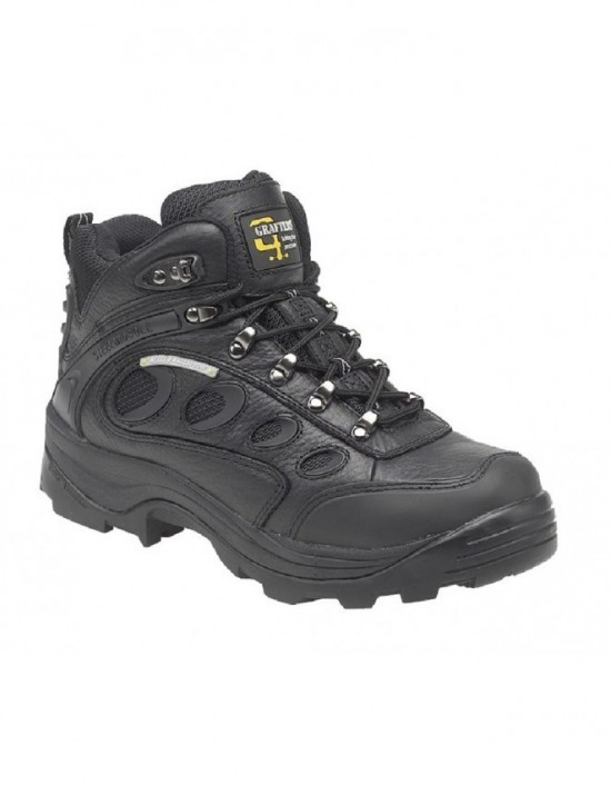 Mens GRAFTERS Industrial Safety Hiker Type Boots