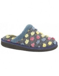 Sleepers DONNA Spotted Warm Fleecy Lining Indoor Slipper