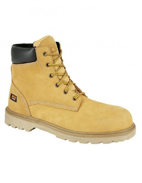 Mens TIMBERLAND 'HERO PRO' 6in Padded Collar Safety Boots