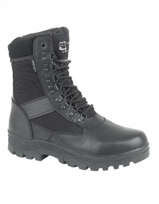 Grafters SNIPER M482A Unisex Black Combat Military Uniform Boots