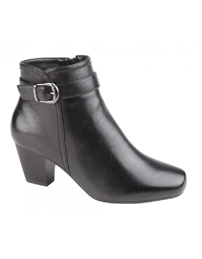 wholesale online shopping great deals 2017 Cat Eyes L806 Small Heel Inside Zip Buckle Fashion Ankle Boots