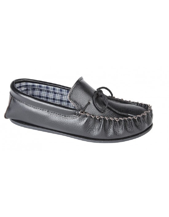 Mokkers OSCAR Leather Full Mocassin Indoor Slippers