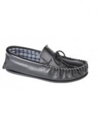 Mokkers OSCAR Leather Full Mocassin Indoor Slippers