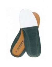 Roamers Deluxe Padded Leather Insoles Long Lasting Comfort