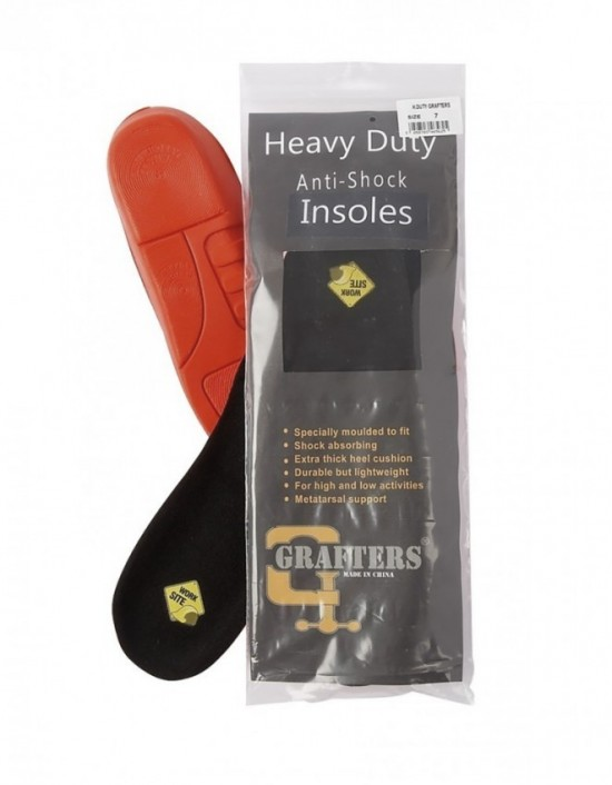 Quality Cushion Insoles Extra Thick Trainer Working Boots Heavy Duty 1 PAIR