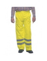 Grafters HI VIS VIZ Work Trousers Combats Highways Railway GO/RT