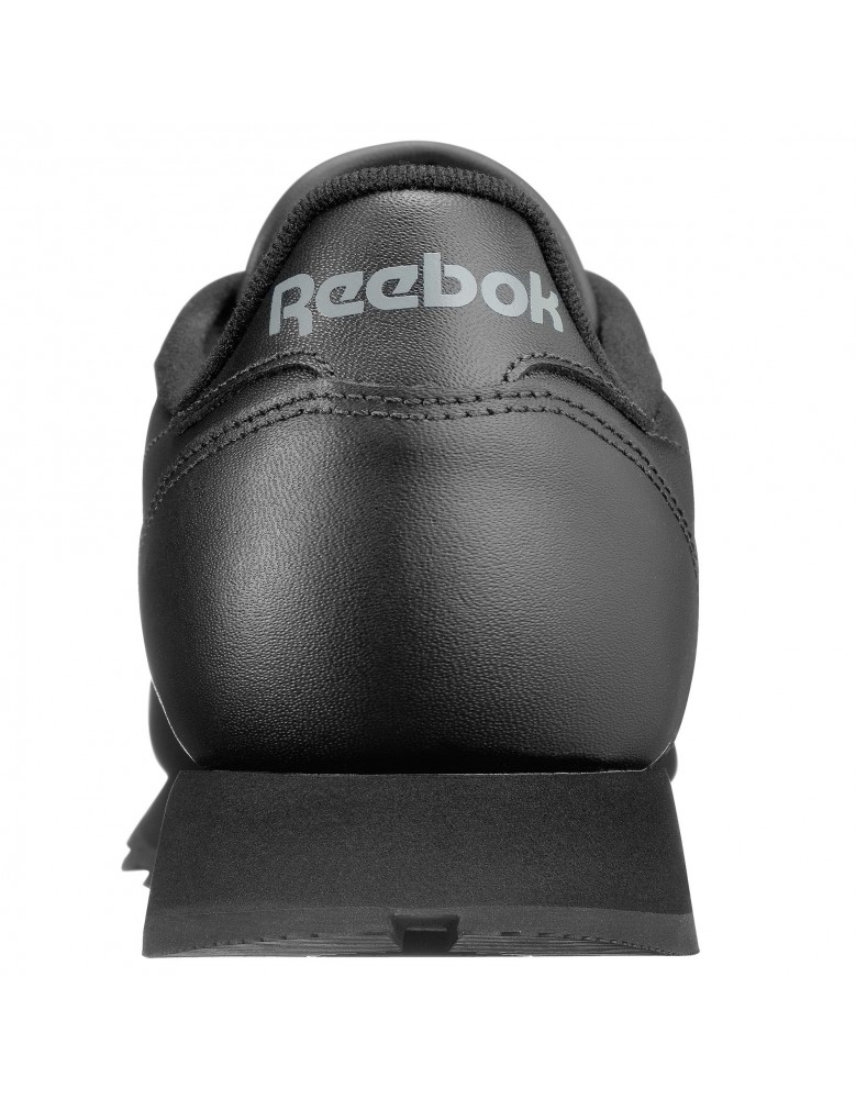 Mens Reebok Classic Leather Trainers - Black - 2267 - ShuCentre 00bff616d