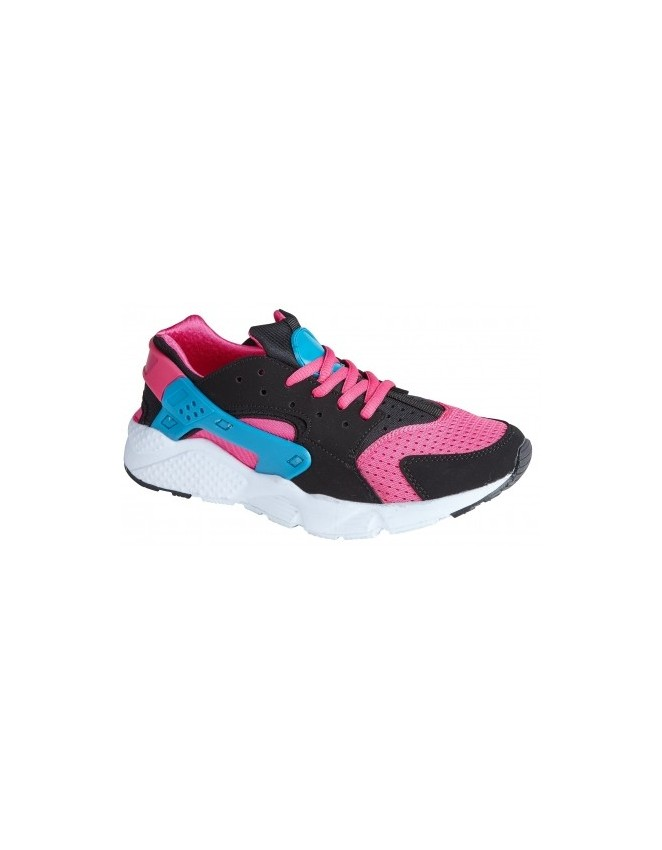 Vanquish Ladies Air Lace Up Fashion Trainers Top Design Multi Colour