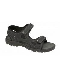 ShuCentre Nigel Adventure Summer Twin Velcro Elasticated Comfort Sandals