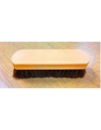 Grafters 17cm 100% Luxury Horse Hair Shoe Care Brush Pack of 2
