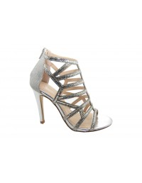 ShuCentre Kate Diamante High Heel Eveing Party Wedding Prom Sandal Shoes