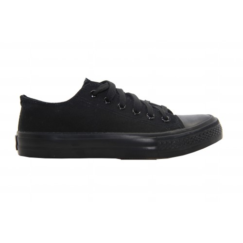 Unisex Flat All Star Lace Up Plimsolls