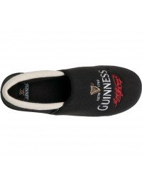 Mens 'Official' Licensed Guinness Signature Pint Cushioned Sole Slip On Full Slippers