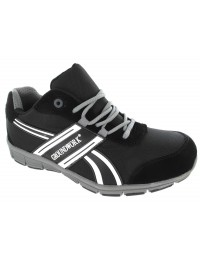 Mens Grey GROUNDWORK ULTRA LIGHTWEIGHT Steel Toe Cap Safety Trainers Shoes Boots Size