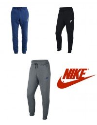 Mens Nike Air AW77 Slim Fit Fleece Tracksuits Smart Grey Blue Black