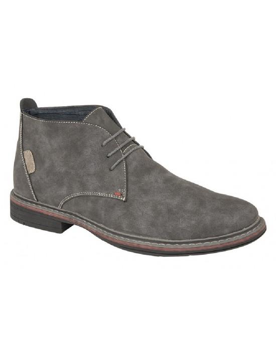 GOOR M9567 Mens Fashion Boots 3 Eye Desert Boot Synth Nubuck