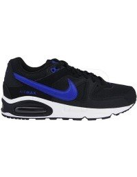 Nike Air Max Command 629993- 004 Black/Blue/White UK7
