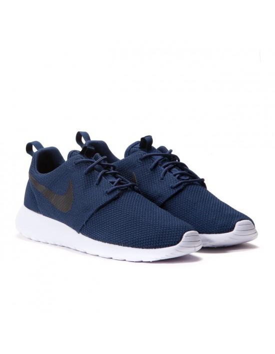 Nike Roshe One Run Trainers Midnight Navy Black 511881 405 UK 7.5