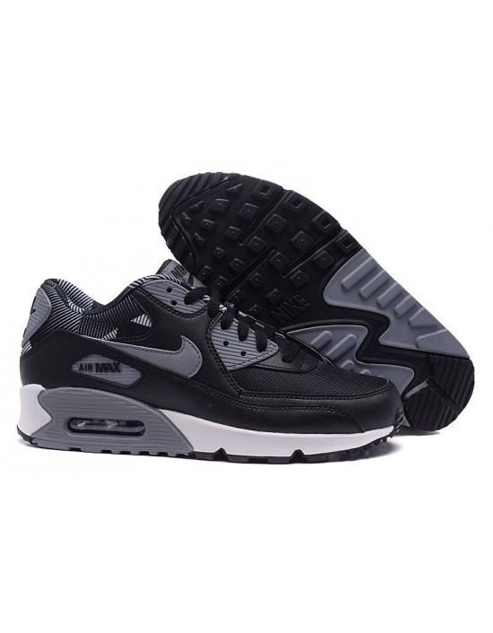 Nike Air Max 90 Print Black Cool Grey Pure Platinum UK 7 749817010